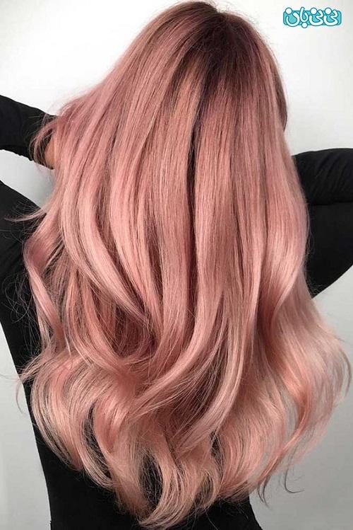 رنگ موی زیبا