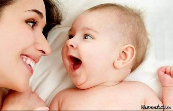 گرفتن عکس یادگاری از نوزاد