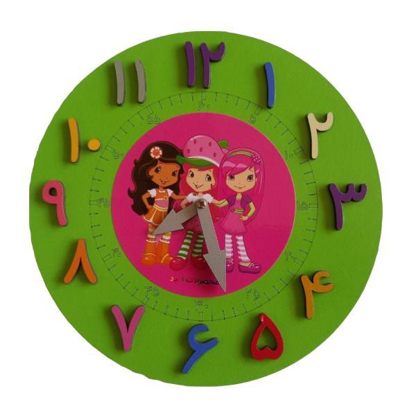 بازی آموزشی ساعت محصولات امید مدل دختر توت فرنگی کد F4