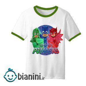 تی شرت آستین کوتاه بچگانه مدل PJ Masks کد TDb42011