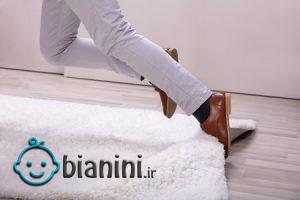 روش هایی برای جلوگیری از سر خوردن فرش