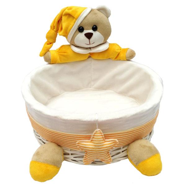 سبد وسایل کودک طرح خرس نانان مدل V02