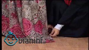 مراسم جالب چادر برون عروسی