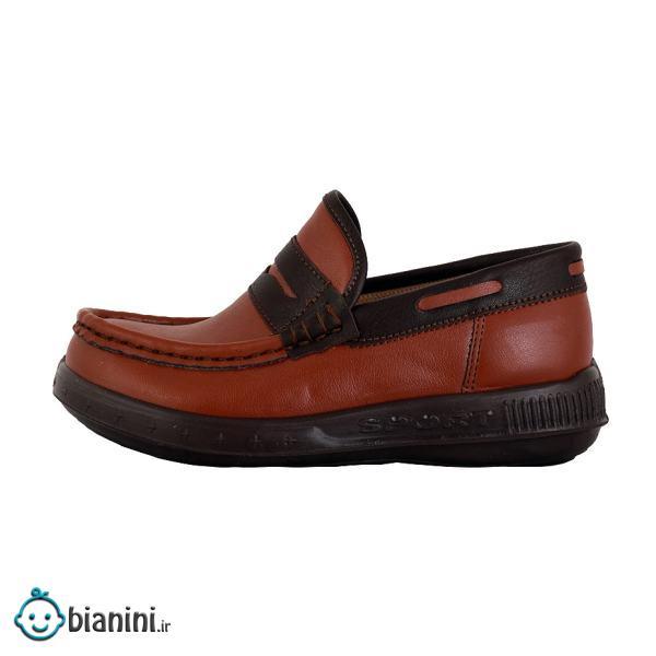 کفش کالج پسرانه شهپر مدل 015