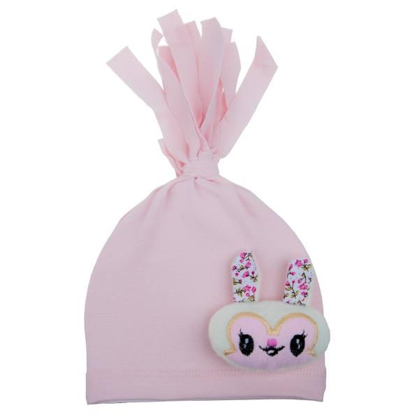 کلاه نوزادی آلبی ماما مدل Rabbit