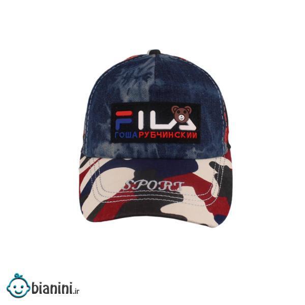 کلاه کپ پسرانه طرح چریکی کد KOB-107