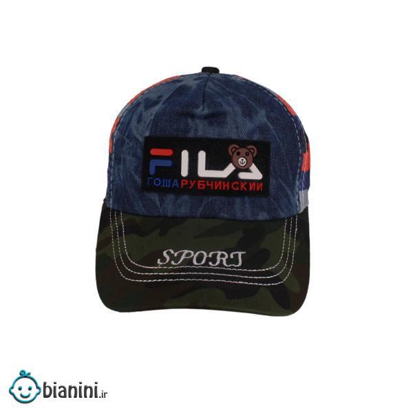 کلاه کپ پسرانه طرح چریکی کد KOB-108