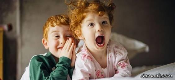 فریاد کشیدن کودک سه ساله