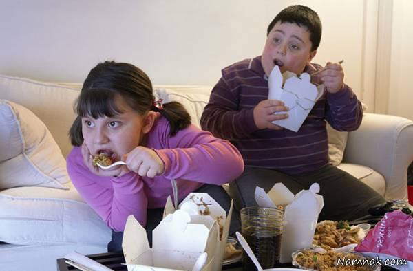 جلوگیری از چاقی کودک