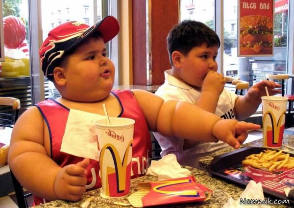 تشخیص چاقی کودکان