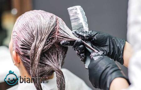 رنگساژ مو چیست؟ انواع و نحوه درست کردن آن