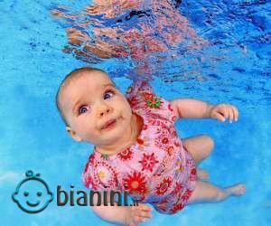استخر مناسب شنای نوزادان