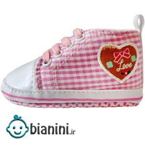 کفش نوزادی مدل قلبک