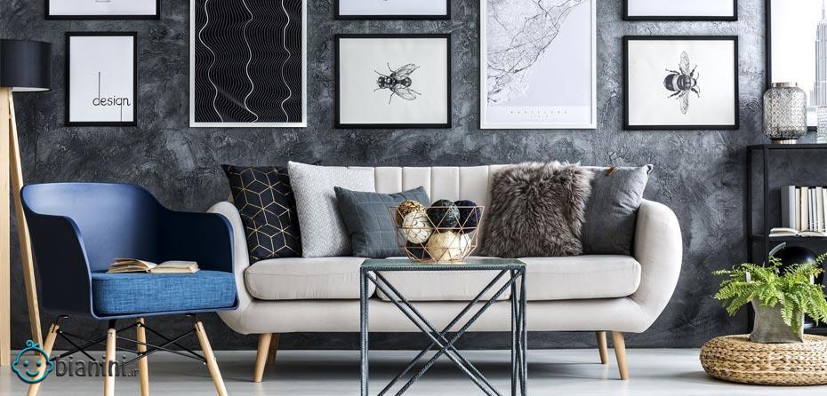 ۱۴ ایده دکور دیوار برای خانه اجارهای