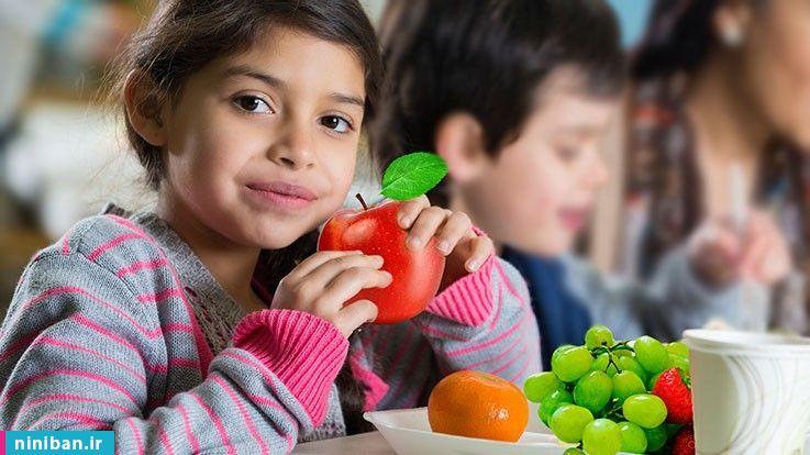 درمان یبوست در کودکان، تغذیه مناسب