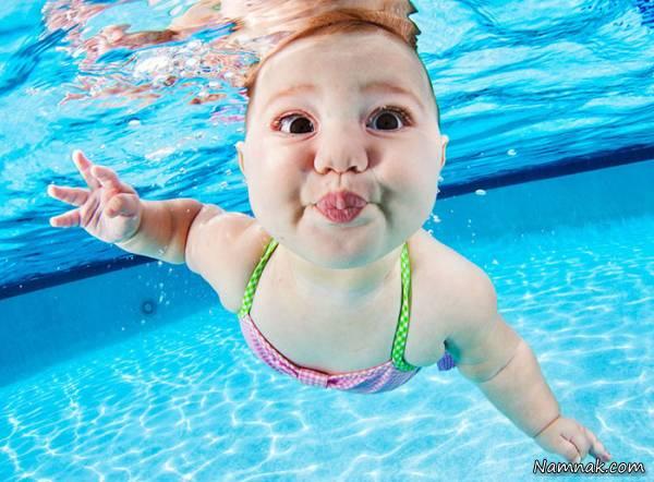 سن مناسب برای یادگیری شنا