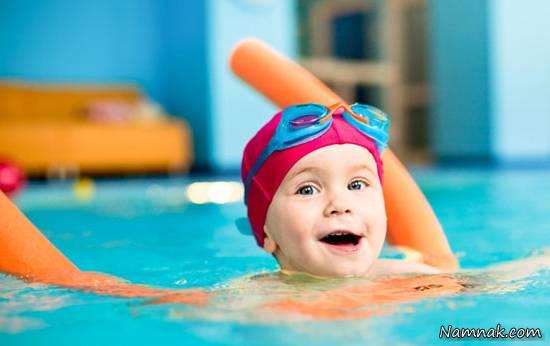 سن مناسب شنا برای کودکان