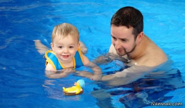 آموزش شنا به کودک