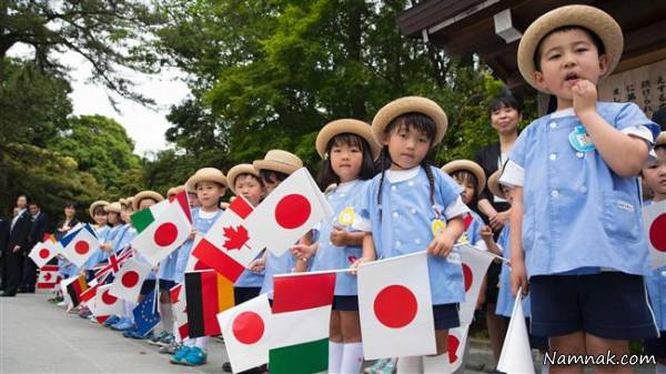 بچه های ژاپنی