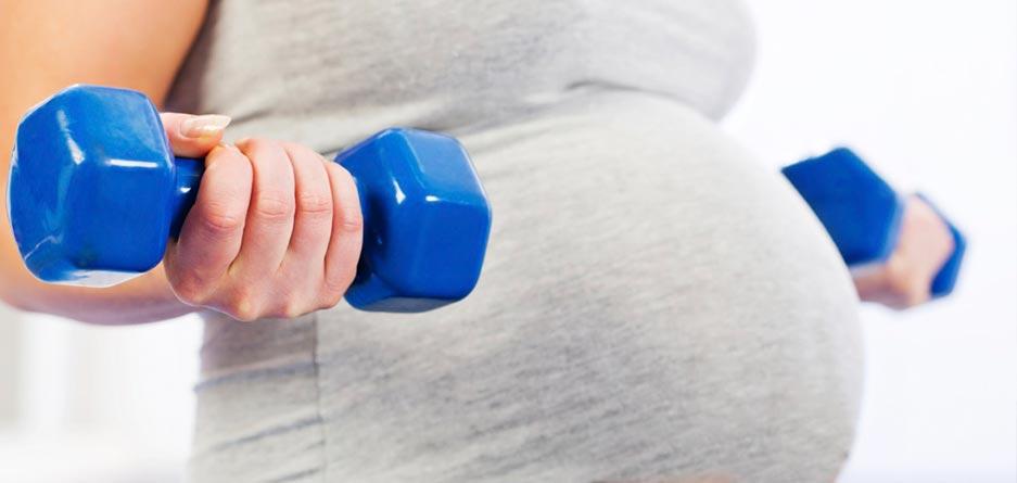 تمریناتی که خانمهای باردار را از شر درد دستها خلاص میکند/ قسمت اول