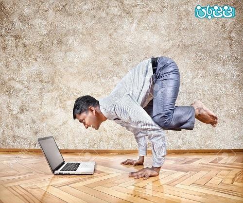 اموزش یوگا در خانه برای لاغری یوگا در خانه، آموزش یوگا مبتدی 10 حرکت ساده یوگا