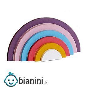 استند رومیزی کودک طرح رنگین کمان مدل U