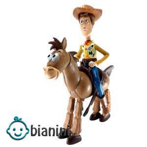 اکشن فیگور مدل Toy Story Woody & Bullseye مجموعه 2 عددی