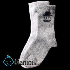 جوراب بچگانه مدل 20201 بسته 2 عددی