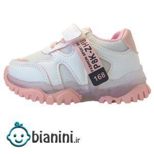کفش مخصوص دویدن چراغدار دخترانه کد JN7077
