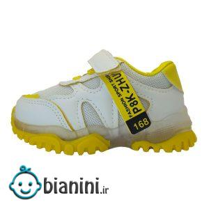 کفش مخصوص دویدن چراغدار دخترانه کد JN7080