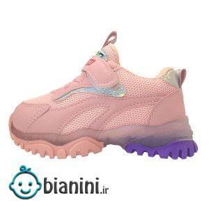 کفش مخصوص دویدن  چراغدار دخترانه JN7650